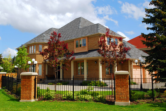 image of upscale dayton ohio brick home - home inspectors miami valley