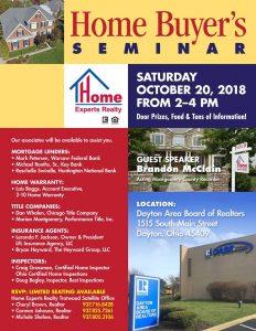 Home Buyers Seminar flyer