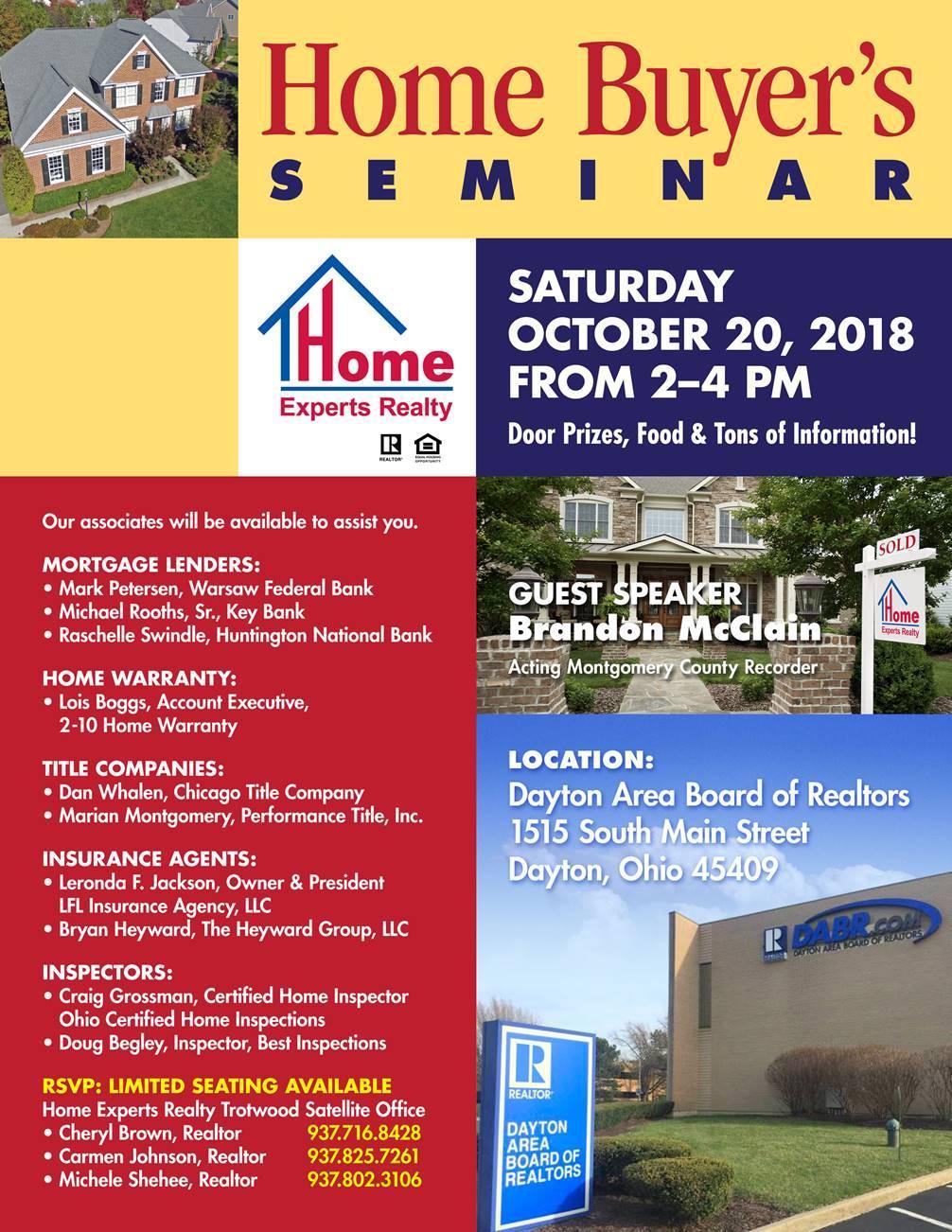 Home Buyers Seminar 2018